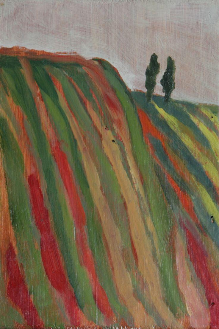 oil on wood painting | 23x15 cm | sicily