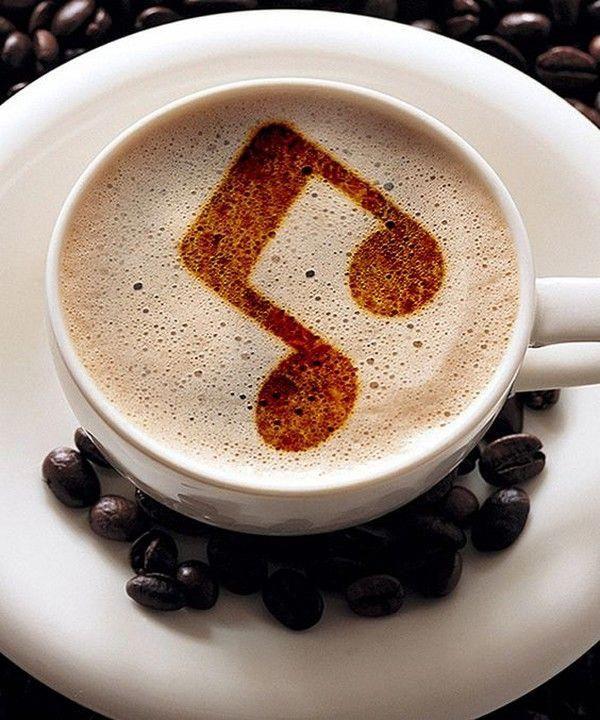 жилой кофе с музыкой картинки получил