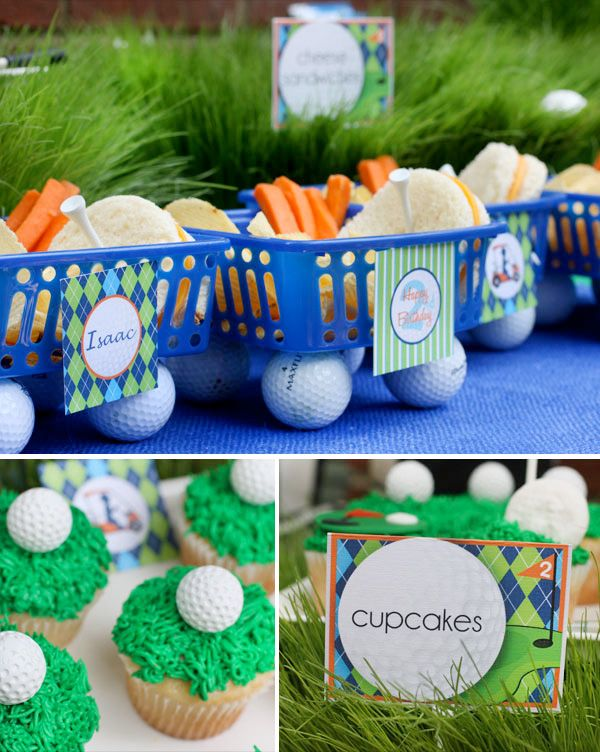 Golf Theme Party with creative food ideas