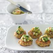 Thai Fish Cakes with Avocado Salsa Recipe - Quick and easy at countdown.co.nz