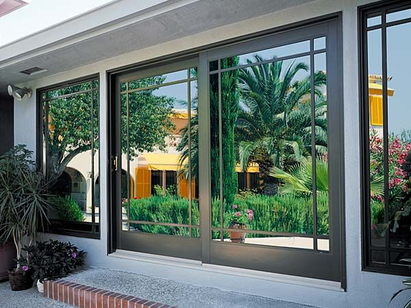 Patio doors by milgard windows and doors view the full for Full glass patio door