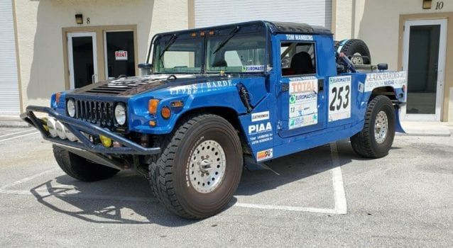 Dakar Winning 1994 Hummer H1 Race Truck For Sale Here Is An Opportunity To Own A One Of A Kind Piece Of Ameri Trucks For Sale Hummer H1 The First Americans
