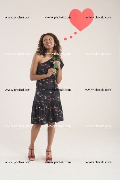 http://www.photaki.com/picture-a-woman-holding-a-rose_1322425.htm