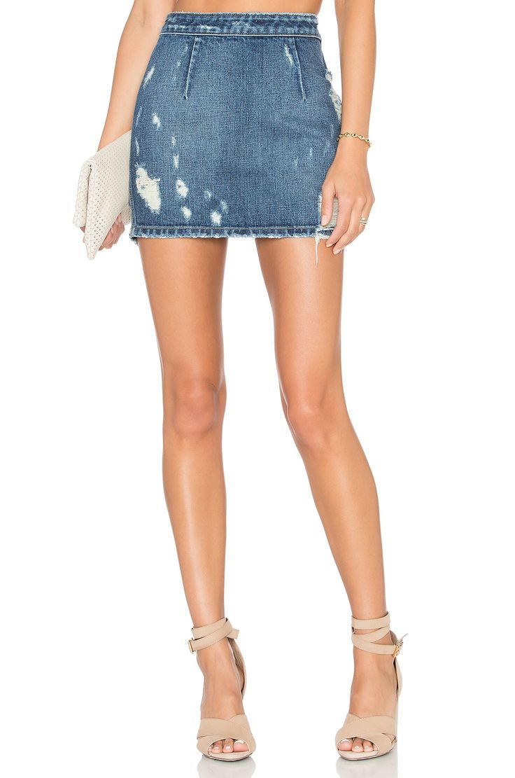 Lovers + Friends MINISSAIA JEANS RYDER