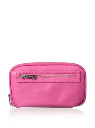 48% OFF co-lab by Christopher Kon Women's Zip-Around Wallet, Hot Pink