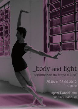 Body and Light.   When the design meets the dance.  Alchimag.net
