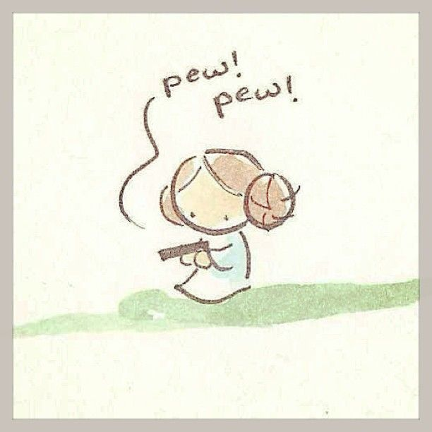 Baby Star Wars Drawings | reminds me of bernadette in the big bang theroy playing starwars with ...