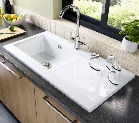 82 best Ceramic Kitchen Sinks images on Pinterest   Ceramic ...
