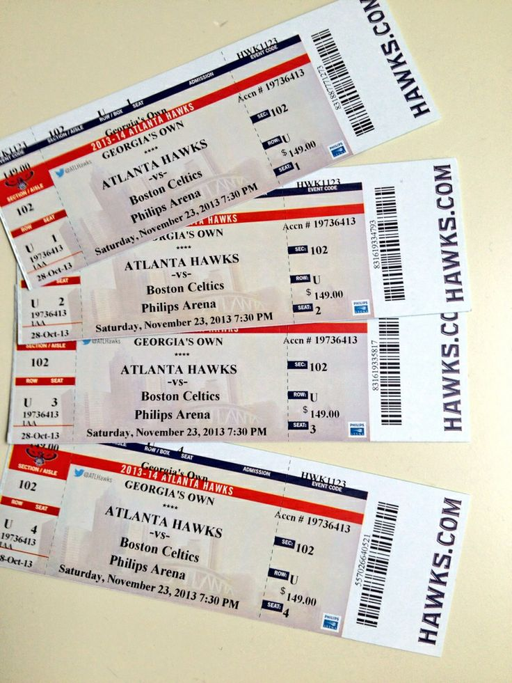 Free 4 ticket for tonight's Hawks game. Likes us on Facebook and share #AtlantaNutrition