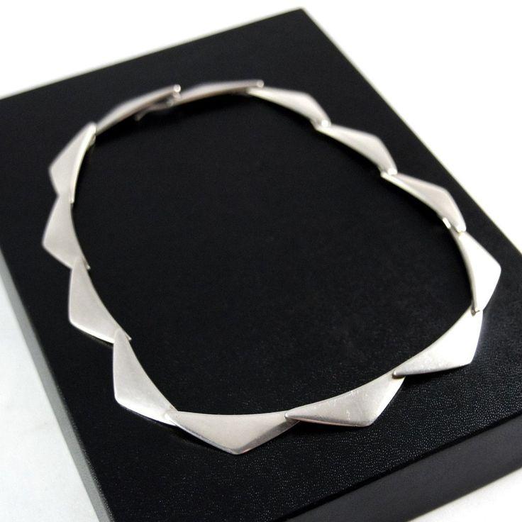 Hans Hansen Peak Necklace  - Sterling Silver