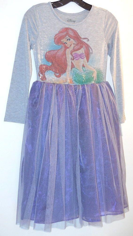 disney princess dress sz l 1012 little mermaid tulle