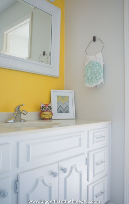 DIY Towel bar out of a clothing hanger!