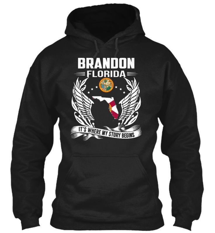 Brandon, Florida - My Story Begins