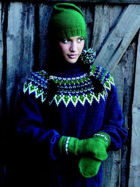 Zugegeben, diesen klassischen Norweger-Pullover hat man nicht in ein paar Tagen gestrickt. Aber der Aufwand lohnt sich.