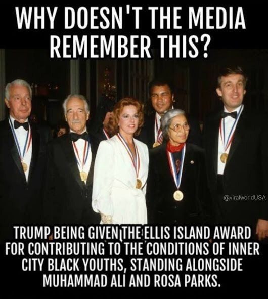 because their the media and they're all a bunch  of liberals