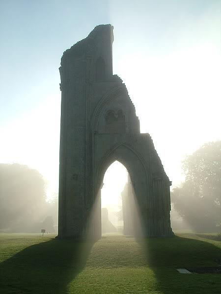The resting place of King Arthur - Glastonbury, England