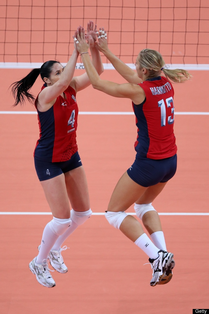 US Women's Volleyball Team Defeats Brazil In Dramatic Olympics Rematch From 2008