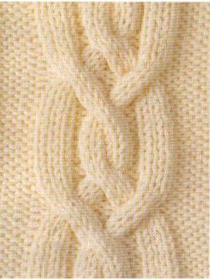 Mejores 179 imágenes de cables celtas en Pinterest   Puntos de tejer ...
