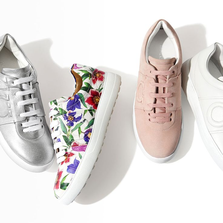 Slip into Spring with the Gancini sneaker. Available in a wide array of  colors,