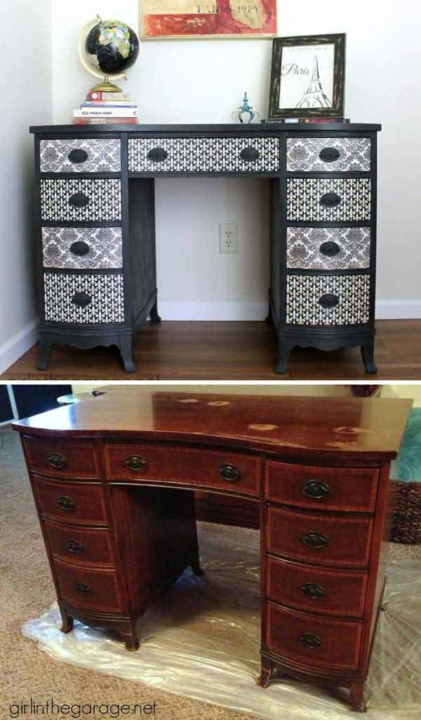 17 Best Ideas About Wallpaper Furniture On Pinterest Diy Chest Of Drawers Quirky Bedroom And