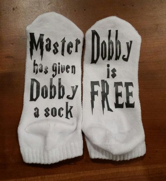 Best 25 Dobby Sock Ideas On Pinterest Harry Potter Sign