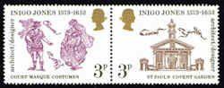 Inigo Jones Setenent - Famous Architect - Great Britain #702a Stamps - EU GB 702a-1 MNH