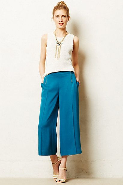 Cropped Riva Wide-Legs - anthropologie.eu