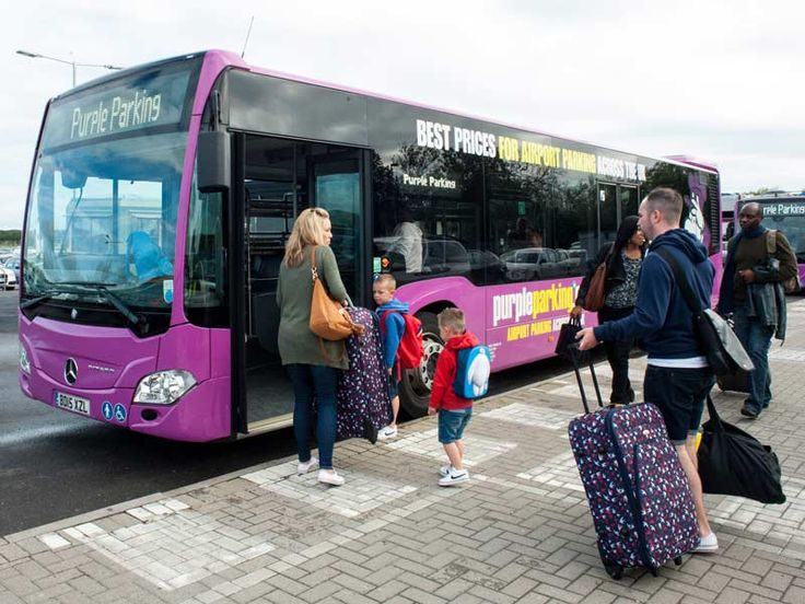 Purple Parking Park and Ride - Gatwick Airport