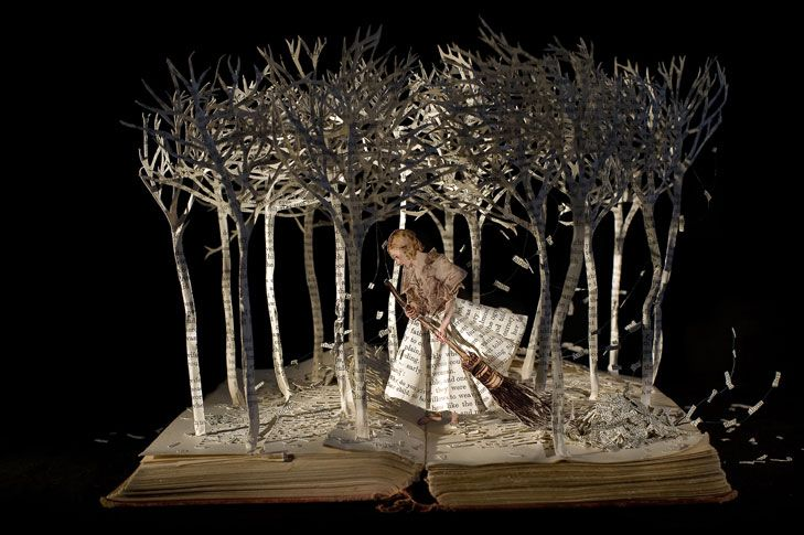 The Girl in the Wood, 2008, Sue Blackwell