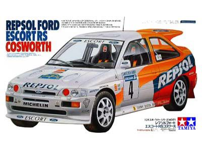 Boxart Ford Escort RS Cosworth 24171 Tamiya