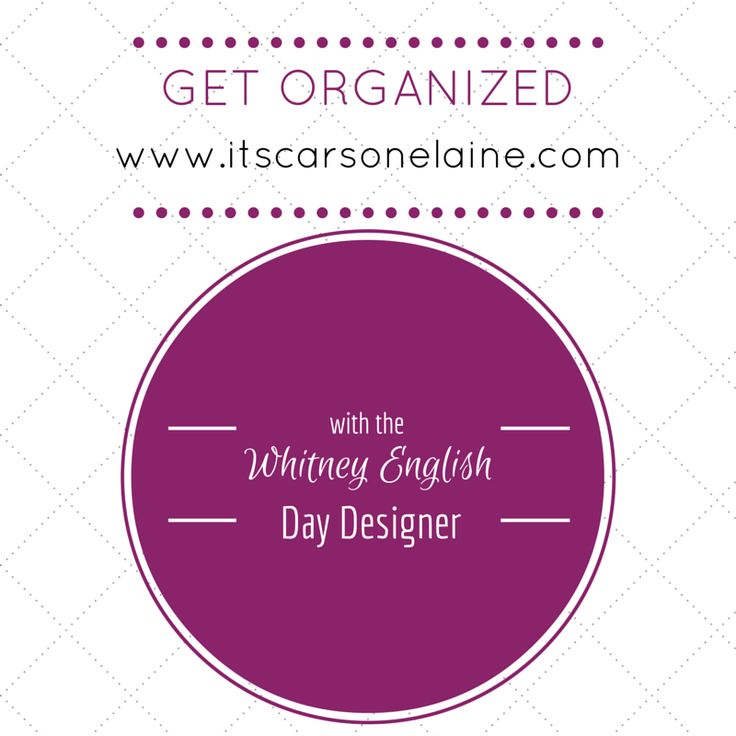 Come read my thoughts on my new Whitney English Day Designer planner from Target!