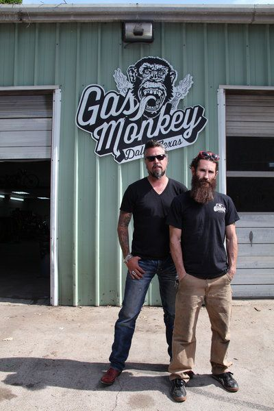 Fast N' Loud (TV show) cast members Richard Rawlings and Aaron Kaufman.. So dang HOTT!!!