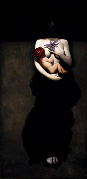 """Pandora"" by Michael Hussar   (seen this in person, and it made quite an impression...I never forgot it. I love this artist!)"