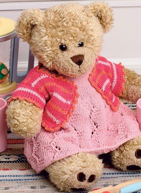 Ups: Lille fejl i opskriften 'Kjole og bolero til Build-a-Bear pigebamsen' - Hendes Verden
