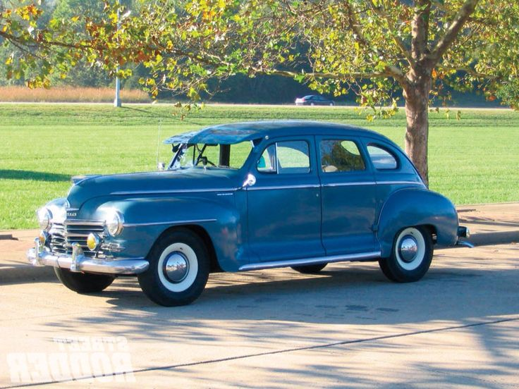 1000 images about great cars and trucks on pinterest for 1947 plymouth 4 door sedan