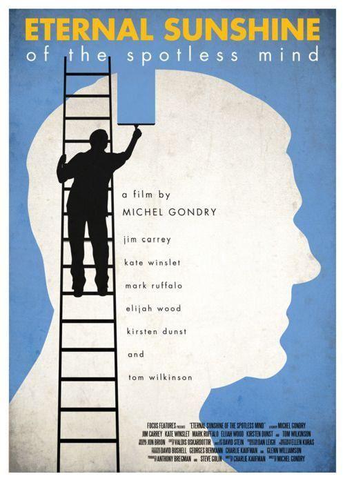 Eternal Sunshine of the spotless mind/ Brilho Eterno de uma mente sem lembranças #filme #movie #jimcarrey #poster #katewinslet