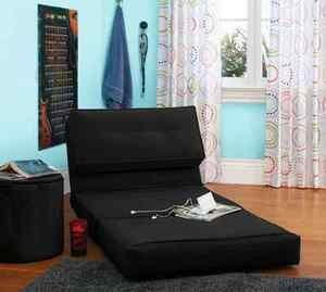 Flip Out Convertible Chair Sofa Sleeper Bed Couch Teen