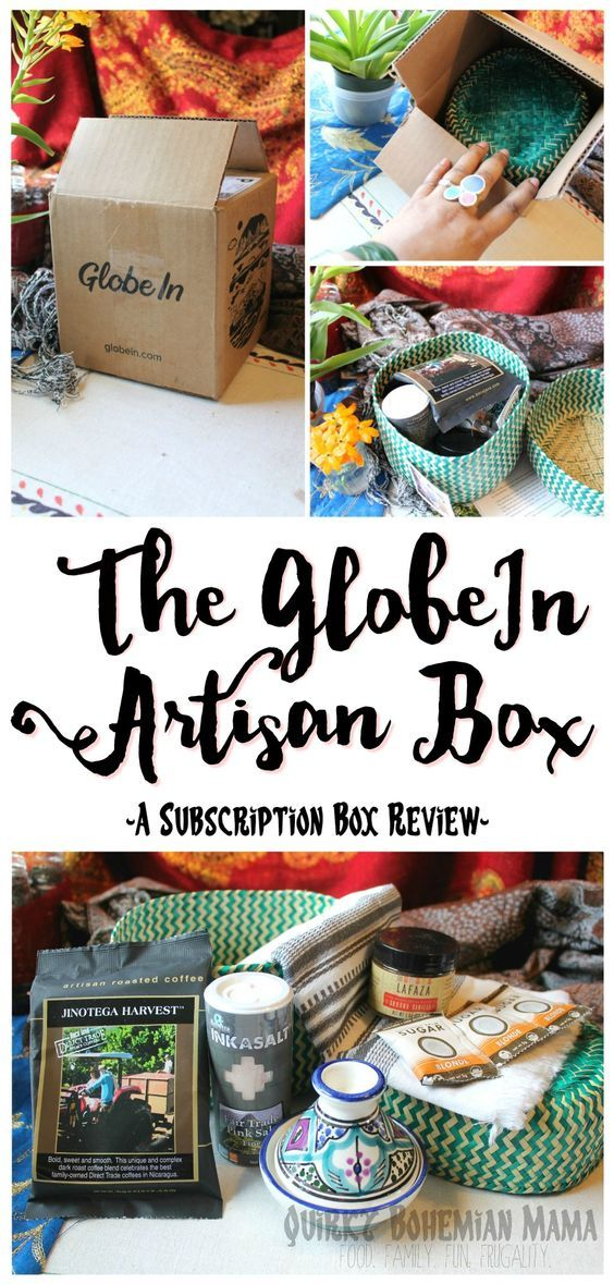 The GlobeIn Artisan Box: Global Gifts Subscription Box {a review!} #fairtrade