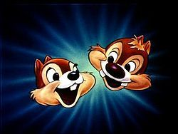 Chip 'n Dale this is what I thought of when someone talked about the chip and dale dancers when I was younger