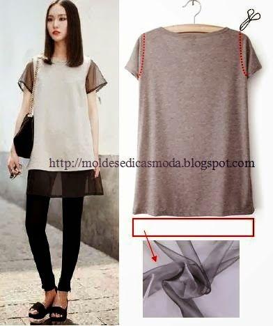 IDEIAS DE RECICLAGEM ~ Moda e Dicas de Costura