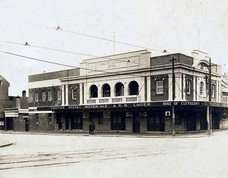 Duke Of Cleveland Hotel. Cleveland & Bourke Sts. 1930