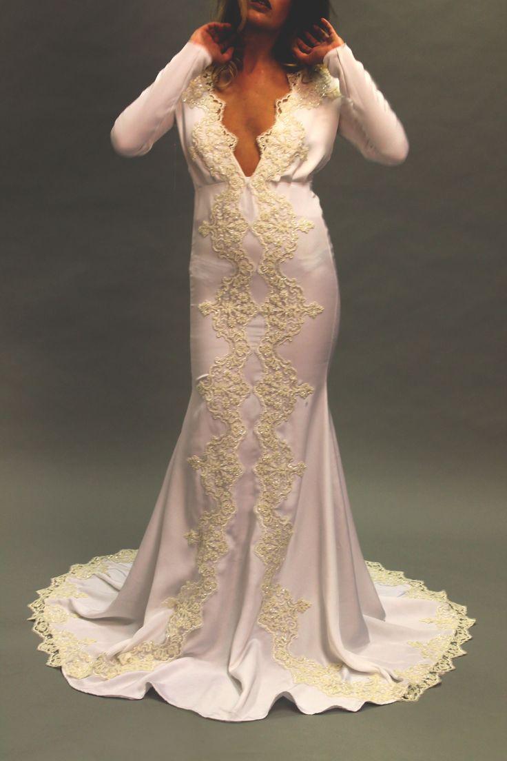 Front view #weddingdress