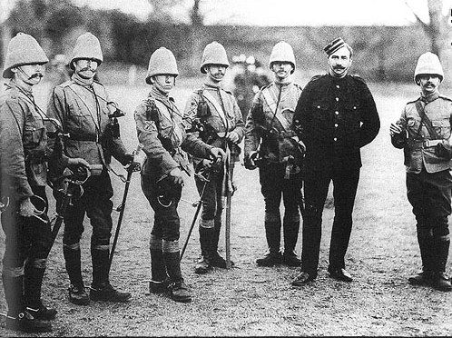 Life Guards During the Boer War