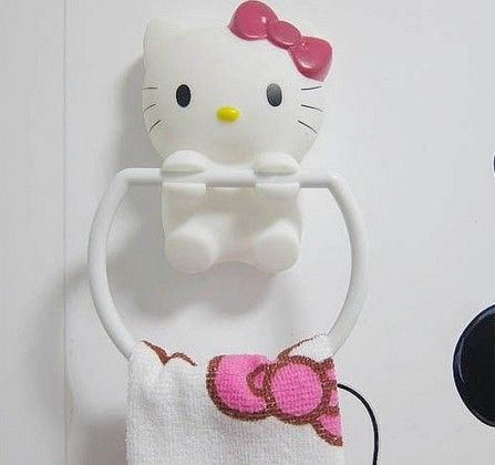 HK |❣| HELLO KITTY towel holder