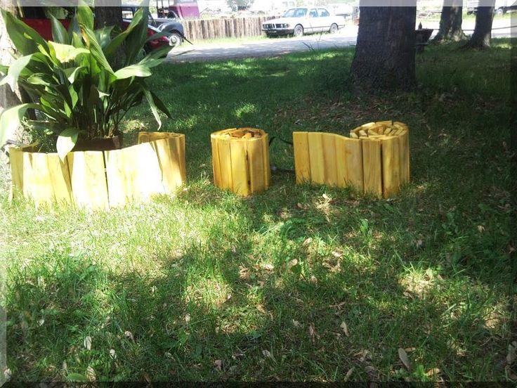 Deszka kerti szegélyek - Kerti szegély