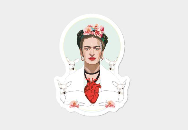 Frida Kahlo Sticker - Design By Humans