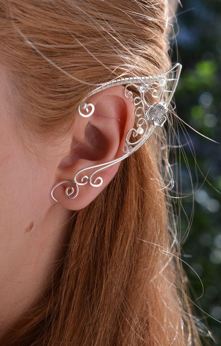 Puños de oreja orejas elfo por BeautyCreek en Etsy