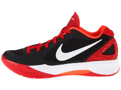 Nike Volley Zoom Hyperspike Black/University Red/Total Crimson/White - 6pm.com | Shoes Shoes ...