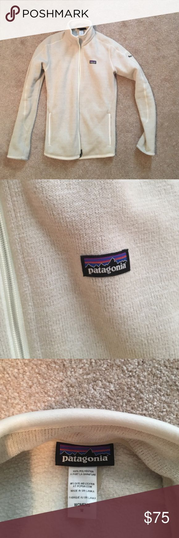 Patagonia better sweater full zip Linen Patagonia better sweater full zip in good used condition - can only tell used by slight discoloration on end of sleeves Patagonia Jackets & Coats