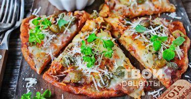 """""""Пицца без теста"""" - cамый вкусный рецепт :)"""